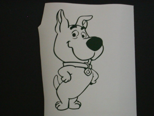Scrapy Doo Decal