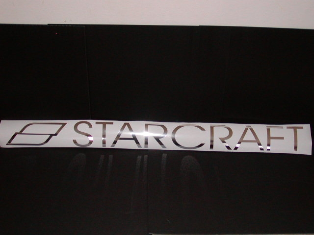 Starcraft Boat Decals Many Sizes and colors