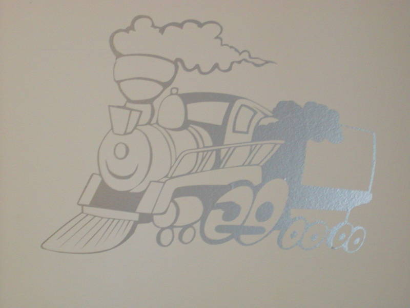 �Thomas The Train Kids Wall, Garage or Garage Door Graphic Decal