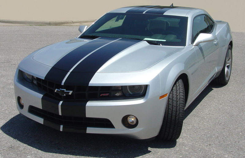 "�2010 - 2011 Camaro 11"" Rally Stripe Graphics set"
