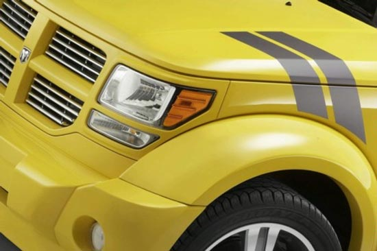 Dodge Nitro Fender Hash Mark Fender stripes