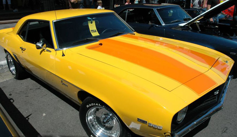 Chevy Outlined Rally stripes
