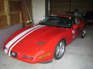 Corvette Off Set Rally Stripe set