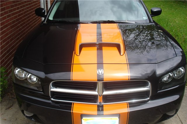 �Dodge Charger Avenger #2 Rally Stripe set