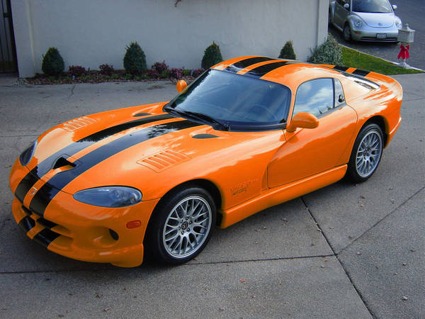 "Dodge Viper 8"" rally Stripes Set"