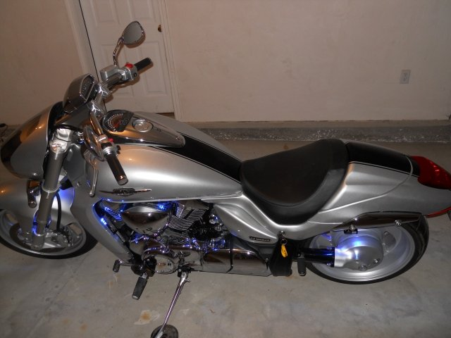 """6"""" Cruiser Motorcycle Stripe Kit"""