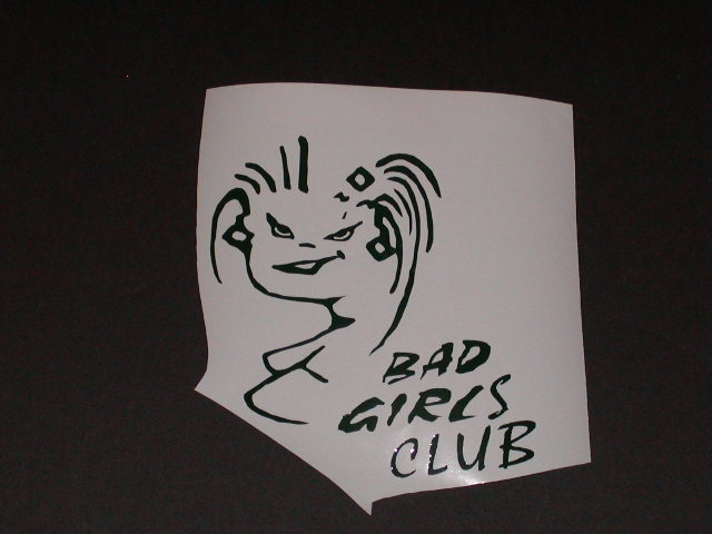 bad Girls Club decal