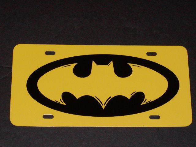 BATMAN Vanity Plate!! HOT!!