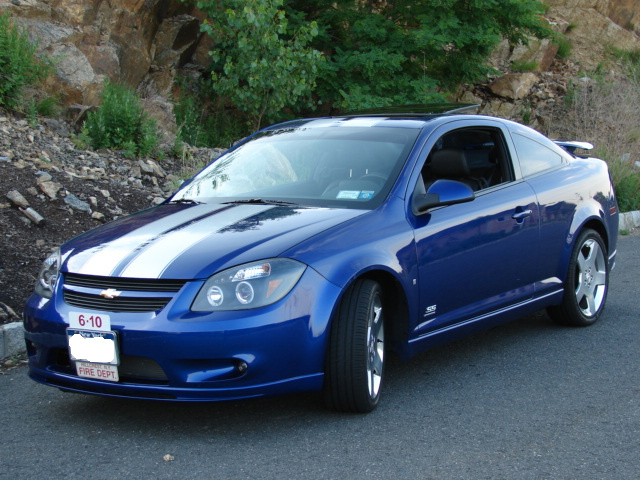 "�chevy Cobalt 8"" Rally stripes # 2"