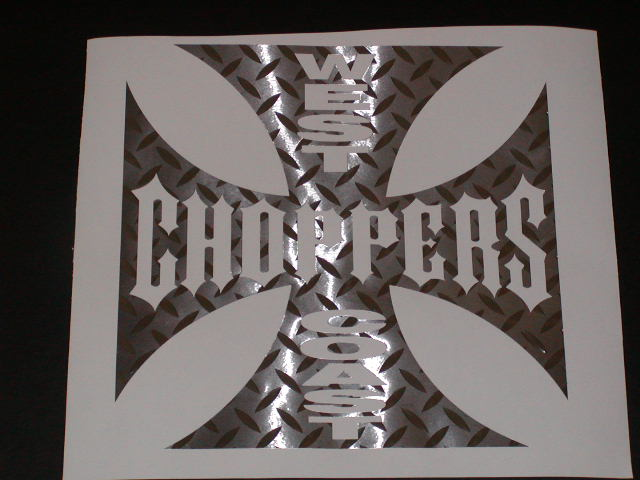 West Coast choppers Decal #1