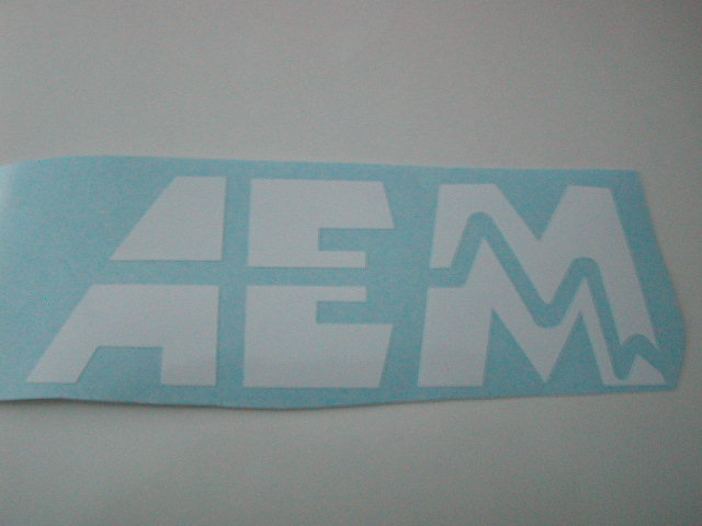 AEM Side decals