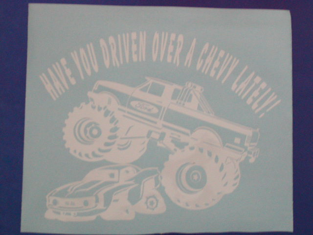 Have you driven over a chevy Lately??