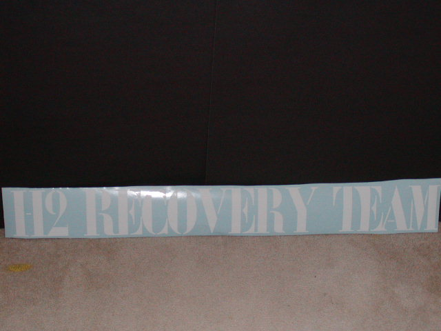 H2 Recovery Team decal!
