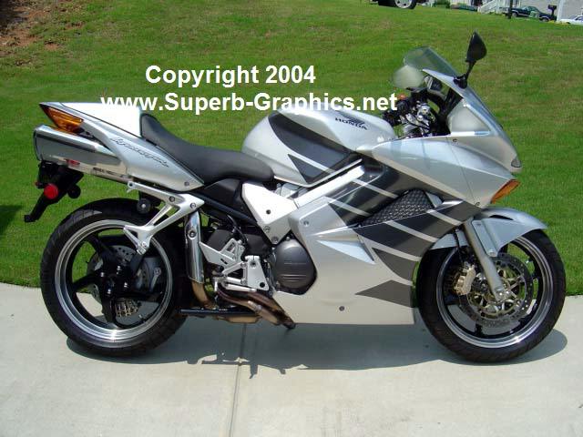 Honda Wing Graphics Fit all Honda Sportbikes