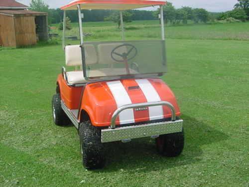 "�6"" Golf Cart Rally Stripes"