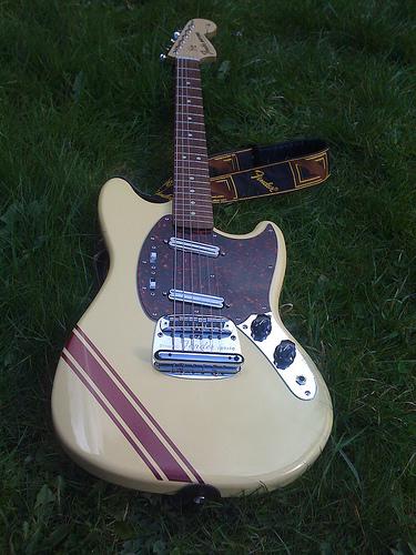 "2.5"" Guitar Stripe Decal #1"