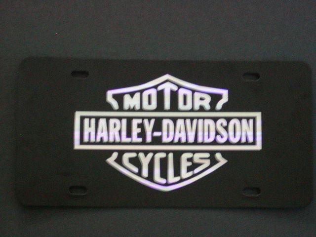Harley Davidson Vanity Plate