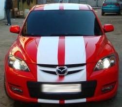 """Mazda 3 10"""" Rally Stripes fit all Mazda Cars 3 & 6"""