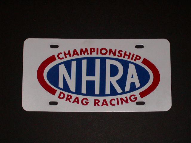 NHRA Drag Racing Vanity Plate