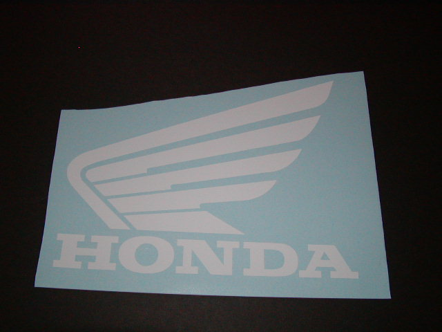 Honda wing Tank Decals