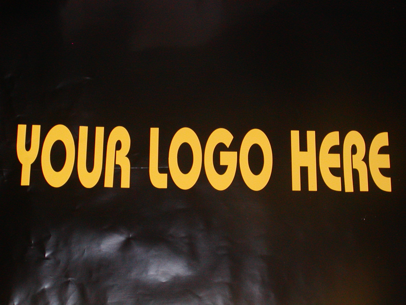 �Your Logo Here Windshield Tailgete or window Decal