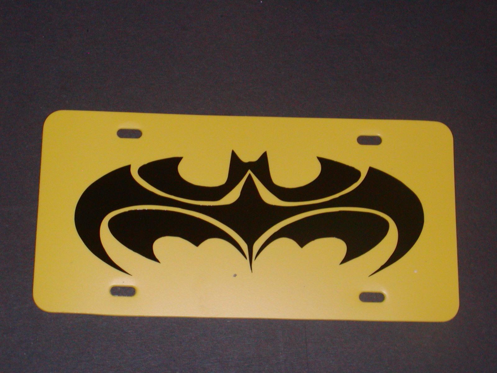 Batman License Vanity plate #2