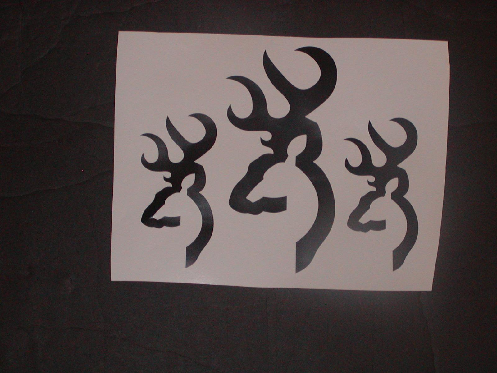 Bushnell Deer Hunting logo Decals