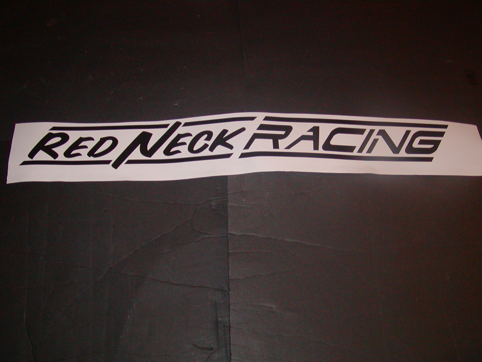 REDNECK Racing Windshield Decal
