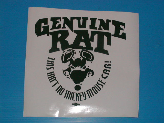 �Genuine Rat Decals