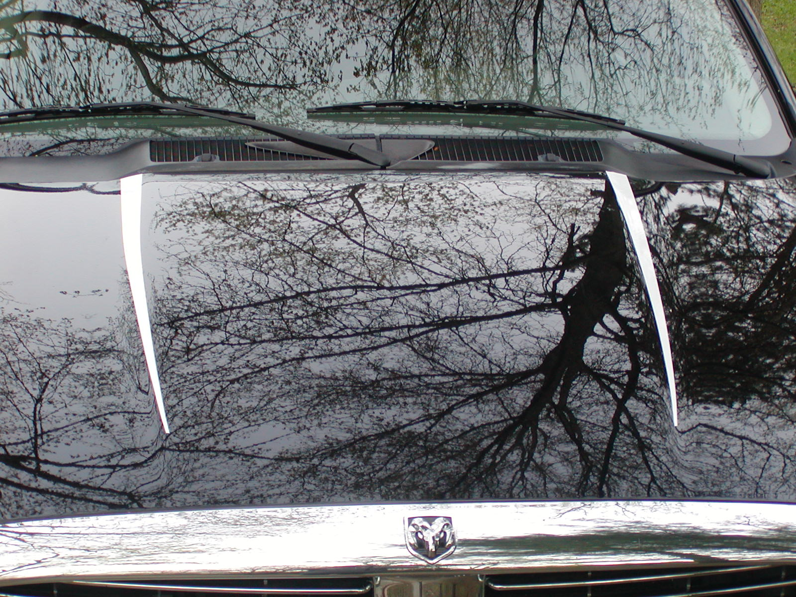 2002-2009 Dodge Ram Hood Accent Stripes