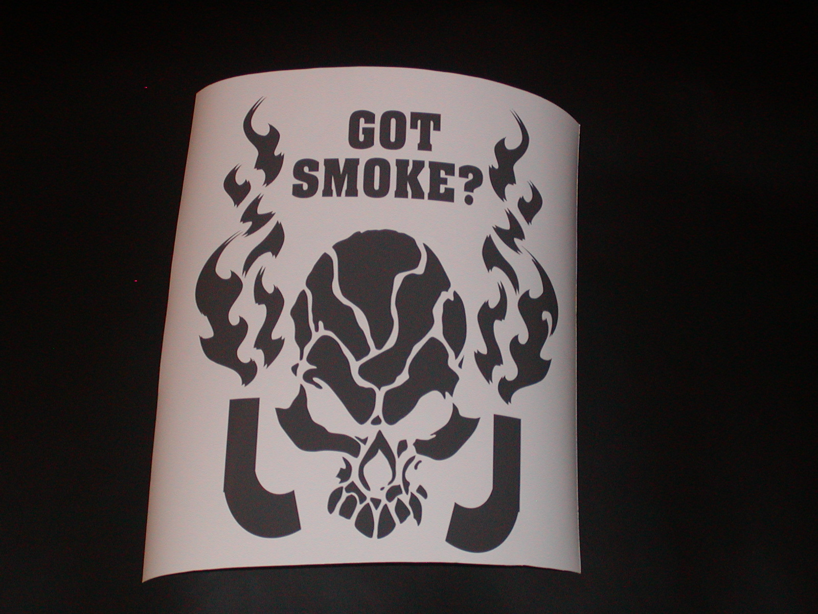 �Got Smoke? With Skull Diesel Decal