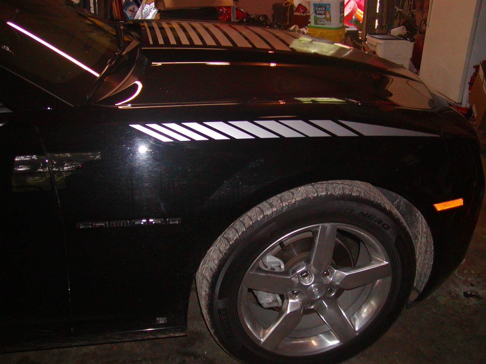 2010 2011 Camaro FADING Front Fender Stripe Decals