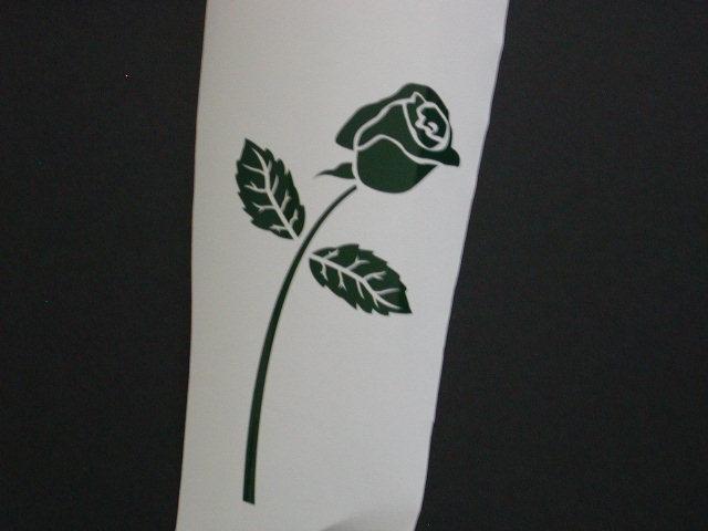 Rose #1 Decal
