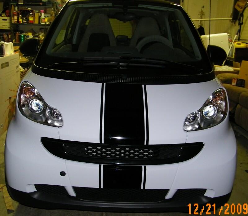 "Smart Car 10"" Center Stripe set"