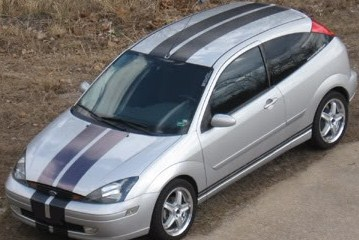 "�Ford Focus 8"" rally Stripes"