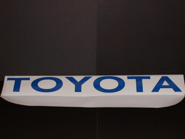 �TOYOTA Windshield or Tailgat Decal