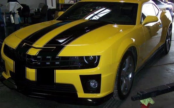 "2010 - 2011 Camaro 10"" Rally Stripes Set #2"