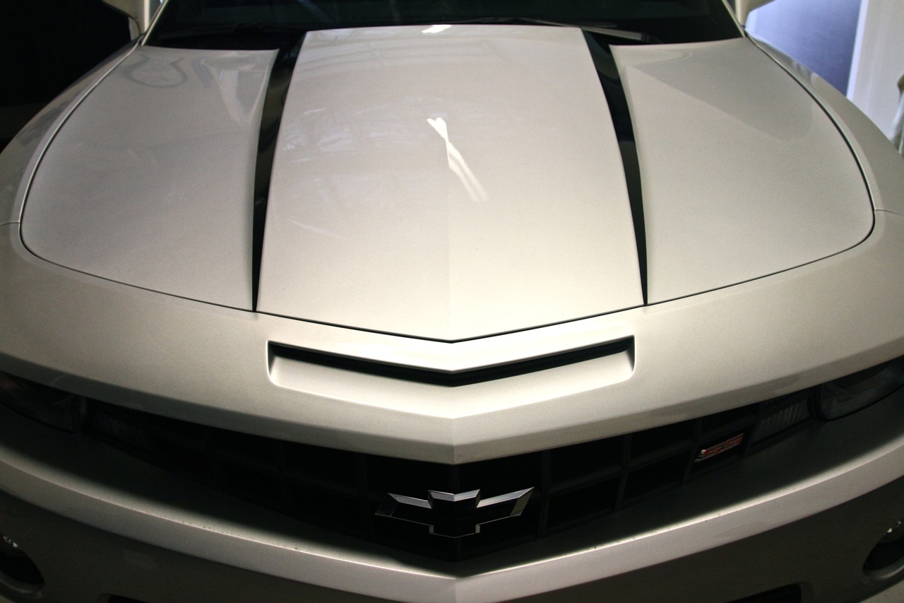 2010 - 2011 Camaro Hood Cowl Stripe Decals