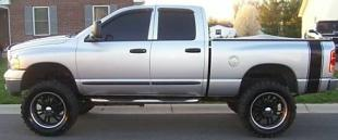 PLAIN Truck Bed Side Stripes (Sold as a Pair)