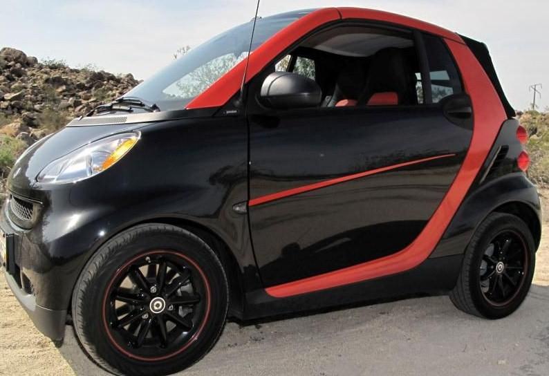 Smart Car Door Accent Stripe Graphics set