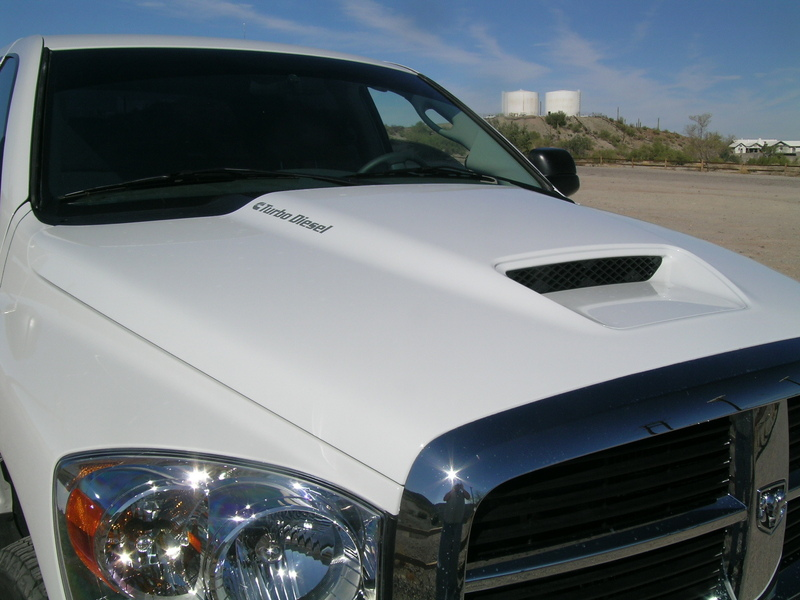 TURBO DIESEL Cummins Logo Hood #2 Decals