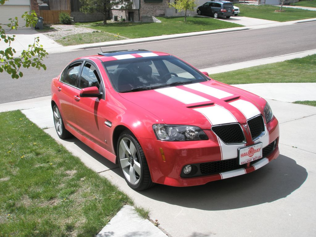"Pontiac G8 GTO 11"" Rally Stripes"