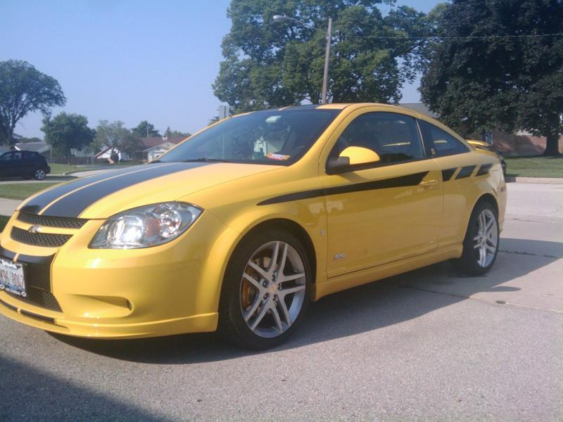 "Pontiac G6 & Chevy Cobalt 10"" Twin Rally Stripes"