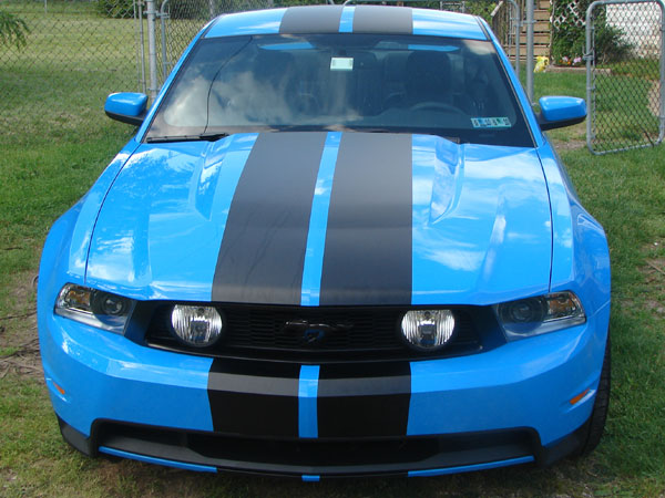 "�Mustang 10"" rally Stripes 2010 - ??"