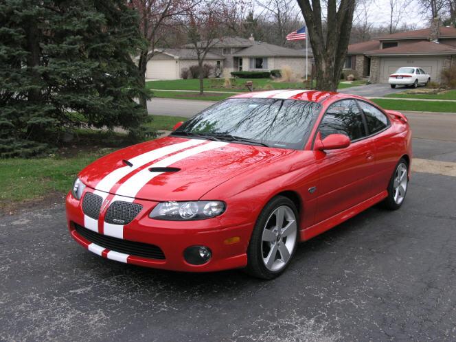 """Pontiac GTO or G8 8"""" Rally stripe set"""