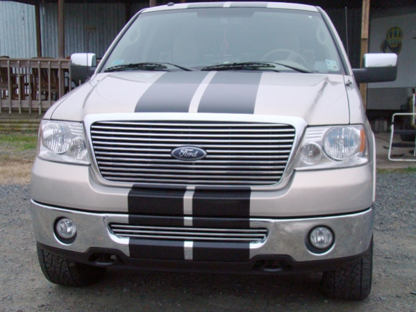 "�Ford Truck 10"" rally Stripes"